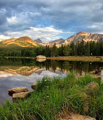 Brainard Lake Reflections Art Print by Ronda Kimbrow