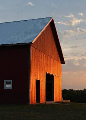 Photograph - Braised Barn by Elizabeth Sullivan