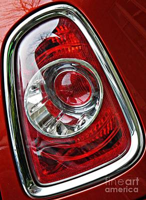 Photograph - Brake Light 25 by Sarah Loft