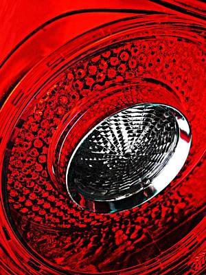 Photograph - Brake Light 3 by Sarah Loft