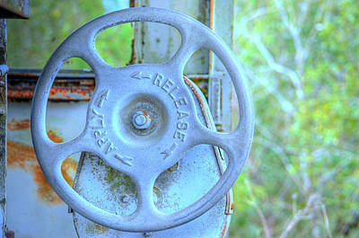 Photograph - Brake Wheel by Ronald T Williams