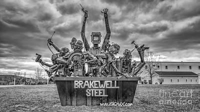 Photograph - Brakewell Steel by Rick Kuperberg Sr