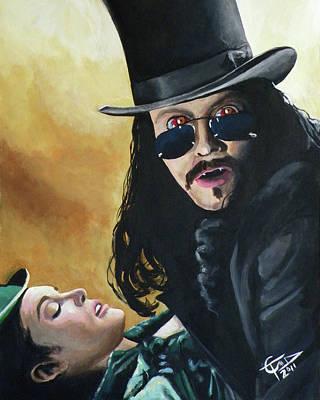 Bram Stoker's Dracula Print by Tom Carlton