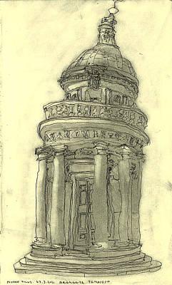 Bramante Tempietto Sketch Art Print