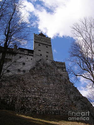 Photograph - Bran Castle Romania by Tamyra Crossley