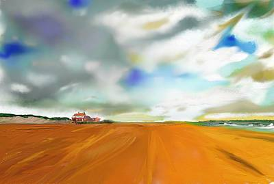 Painting - Brancaster Norfolk by S Robinson