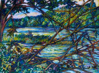 Painting - Brances Over The New River by Kendall Kessler