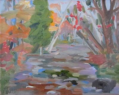 Painting - Branch Lake Brook by Francine Frank