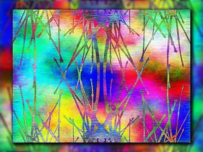 Branches In The Mist 7 Print by Tim Allen
