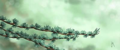Close-up Digital Art - Branches by Veronica Minozzi