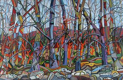 Painting - Branching Out by Deborah Glasgow