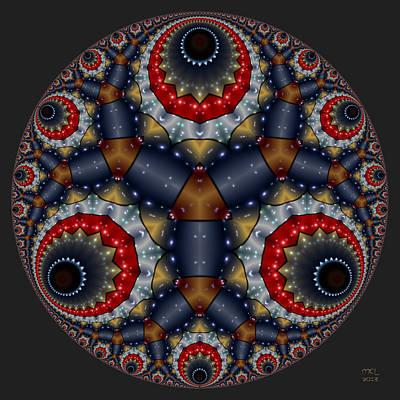 Digital Art - Branching Process by Manny Lorenzo