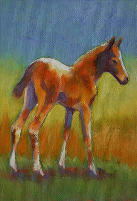 Painting - Brand New Foal by Carol Jo Smidt