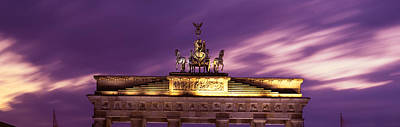Brandenburg Gate, Berlin, Germany Art Print by Panoramic Images
