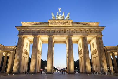 Berlin Photograph - Brandenburg Gate Berlin by Julie Woodhouse