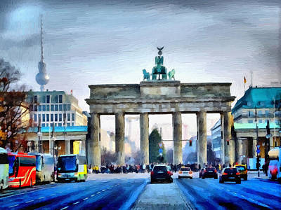 Brandenburg Gate Original by Ralph van Och