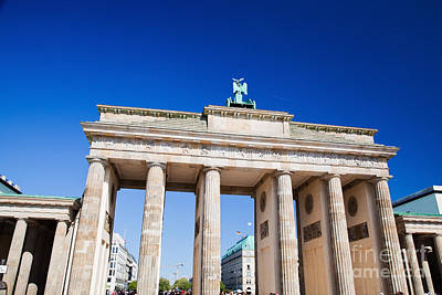 Statue Photograph - Brandenburg Gate by Michal Bednarek