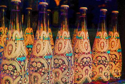 Photograph - Branding Bottles by Nina Silver