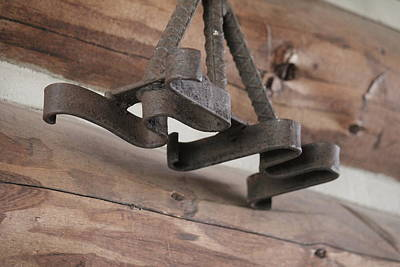 Photograph - Branding Iron by Trent Mallett