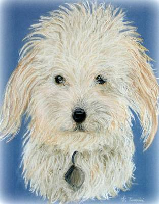 Painting - Brandy Looking At You by Vickie G Buccini