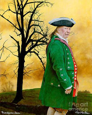 Revolutionary War Painting - Brandywine Dawn... by Will Bullas