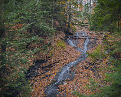 Photograph - Bridal Vail Falls - Cvnp by Jack R Perry