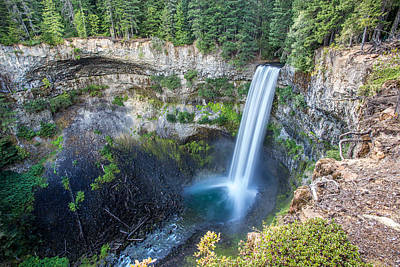 Brandywine Falls In Whistler British Columbia Art Print by Pierre Leclerc Photography