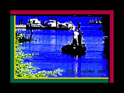 Pirate Haven Digital Art - Brannan Island Road California by Joseph Coulombe