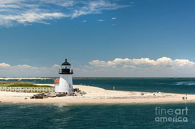 Photograph - Brant Point Light Nantucket by Michelle Constantine