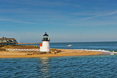 Brant Point Photograph - Brant Point Lighthouse Nantucket by Marianne Campolongo