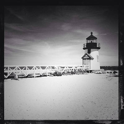 Brant Point Photograph - Brant Point Lighthouse by Natasha Marco