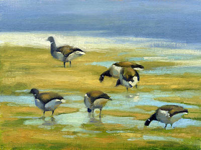 Painting - Brant - Spring Light by Neil Rizos