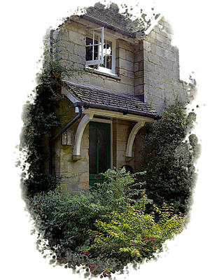 Photograph - Brantridge Cottage by Gordon Engebretson