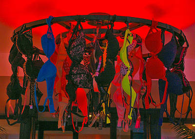 Photograph - Bras On Display In Pigalle by Dany Lison