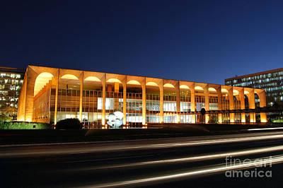 Photograph - Brasilia - Palacio Itamaraty by Carlos Alkmin