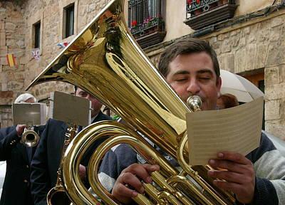 Brass Band-trombone Art Print