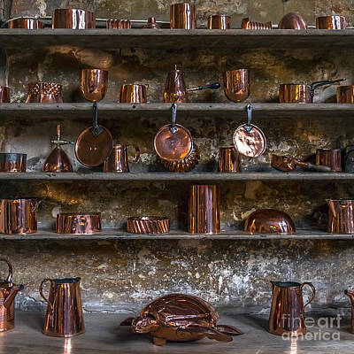 Brass Kitchenware Print by Svetlana Sewell