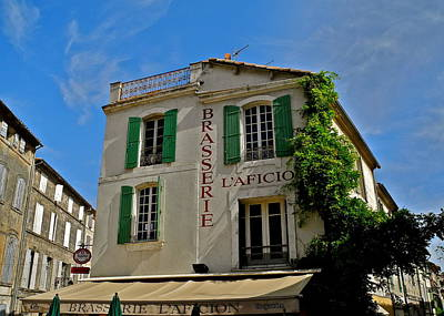 Photograph - Brasserie L'aficion In Arles by Kirsten Giving