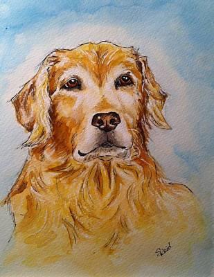 Painting - Brassie by Stephanie Reid