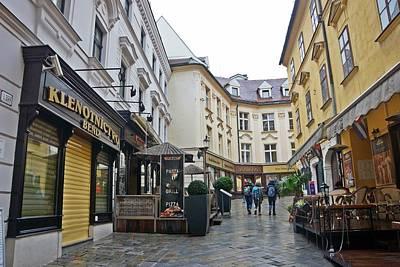 Photograph - Bratislava-190 by Rezzan Erguvan-Onal