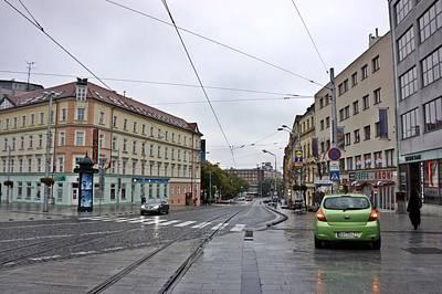 Photograph - Bratislava-199 by Rezzan Erguvan-Onal