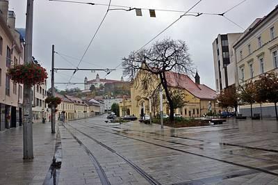 Photograph - Bratislava-200 by Rezzan Erguvan-Onal