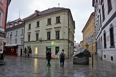 Photograph - Bratislava-205 by Rezzan Erguvan-Onal