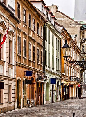 Photograph - Bratislava by Les Palenik