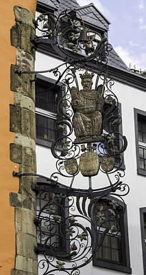 Brauerei Zum Pfaffen Pub Sign Cologne Germany Art Print
