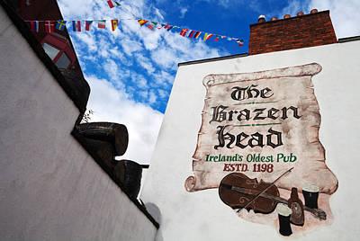 Brazen Head Pub Sign, Bridge Street Print by Panoramic Images