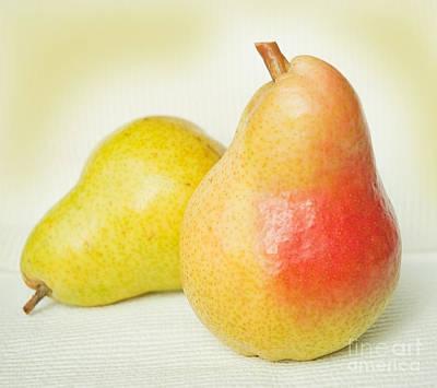 Brazen Pear Art Print by Lena Wilhite