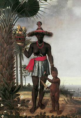 Brazil Black Woman, 1641 Art Print by Granger