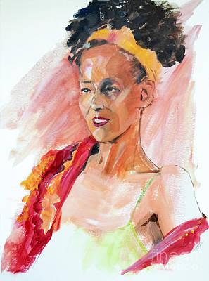 Painting - Brazil Girl by Greta Corens