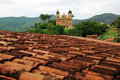 Mariana Photograph - Brazil, Minas Gerais, Mariana, Igreja by Anthony Asael